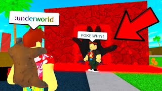 I Sent Him To The UNDERWORLD Using NEW Admin Commands! (Roblox)