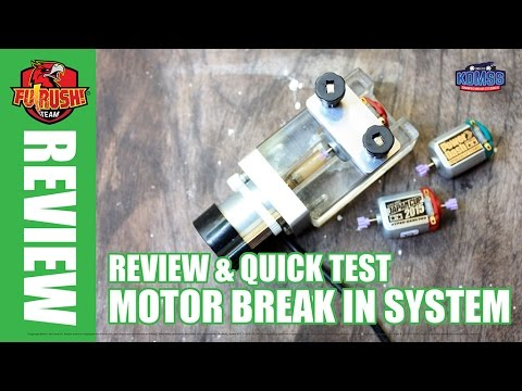 Mini 4WD Unboxing And Review Motor Breaking System By Plasma Genetic