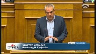 Προγραμματικές Δηλώσεις: Ομιλία Χρ. Μπγιάλα (ΣΥΡΙΖΑ) (06/10/2015)