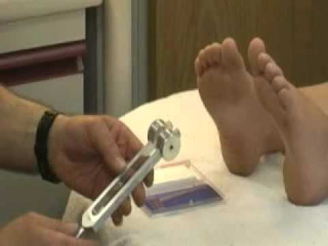 Vibration In Foot >> Vibration Sensation Exam