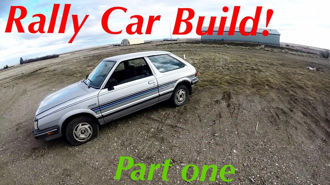 Budget Rally Car Build! - YouTube