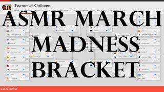 ASMR Sports: 2018 March Madness Brackets - (Whispered NCAA Basketball ASMR)