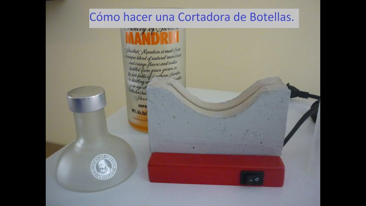 Como Construir Piletas De Material Of C Mo Hacer M Quina Corta Botellas De Vidrio Youtube