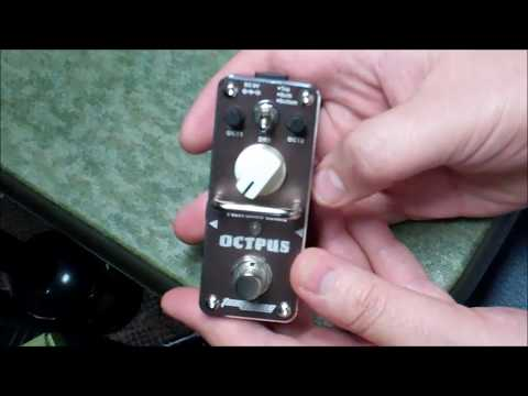 Tomsline Engineering Octpus Octave Guitar Pedal....  Does it work?  How Well?