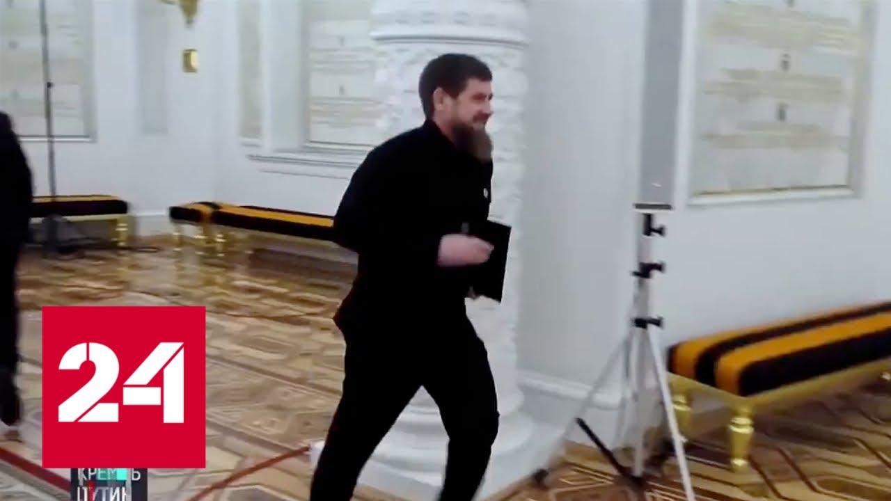 Удивительные кадры:  бегом по Кремлю. Кто и куда? // Москва. Кремль. Путин от 29.12.19