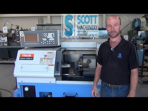 Mazak Quick Turn QT-6T Used CNC Lathe