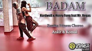 BADAM BADAM | (cover song ) Hardwell & Henry fong | feat Mr. Vegas | Zumba fitness choreo |