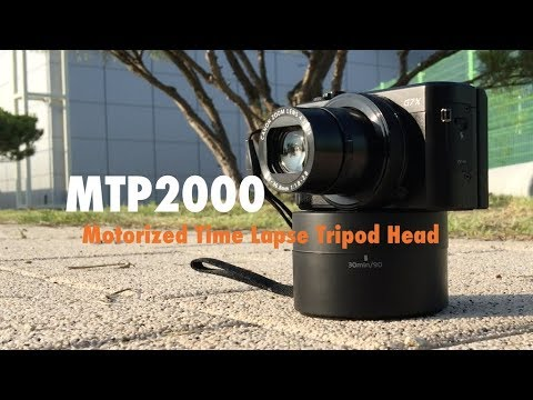 Movo Photo MTP2000 Panoramic 360°// 120-Minute Time Lapse Tripod Head for Came...