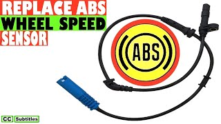 How to replace an ABS Wheel Sensor - ABS Wheel Speed Sensor Replacement