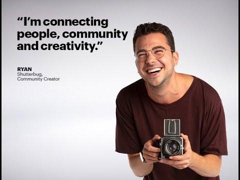 Ryan: Shutterbug, Community Creator