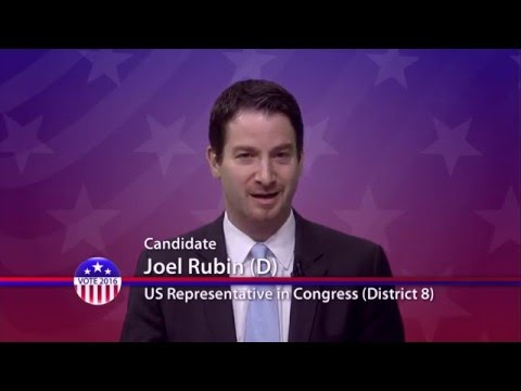 Joel Rubin (D), Candidate for U.S. Congress District 8 - Primary Election
