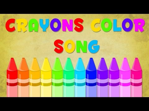 Crayons song | Color Song | Baby Videos