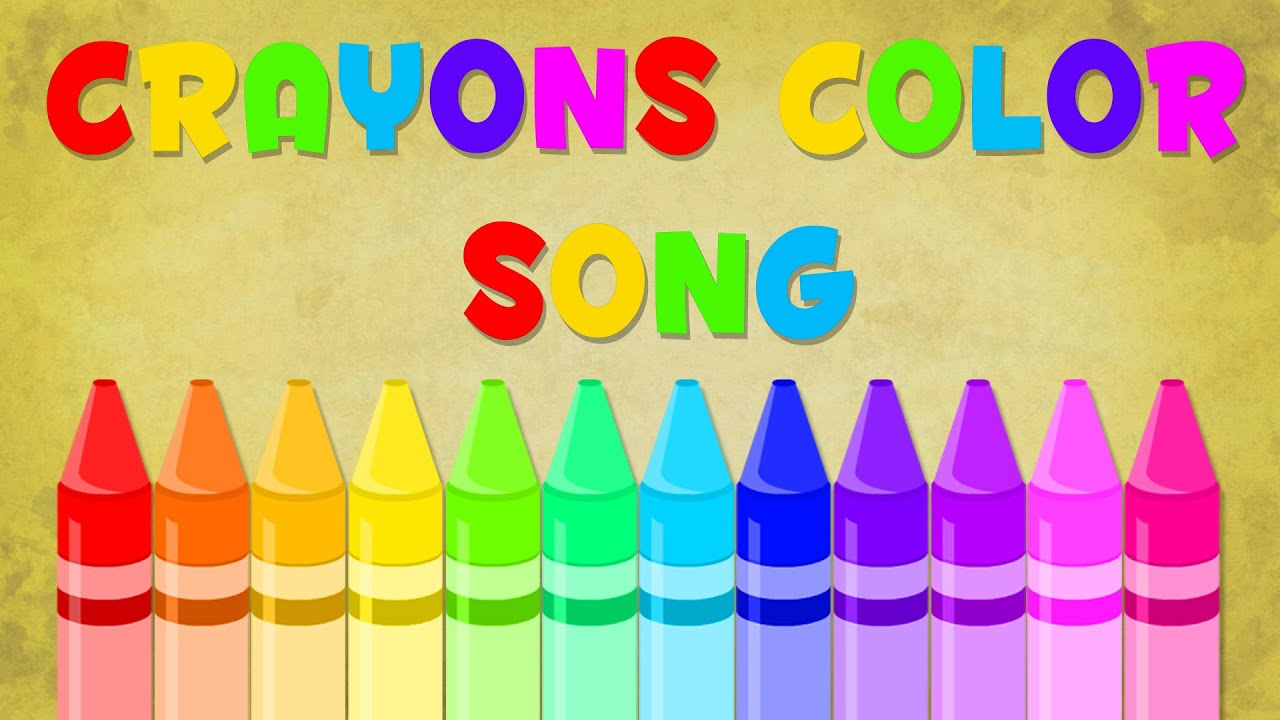 Crayons song | Color Song | Baby Videos - YouTube