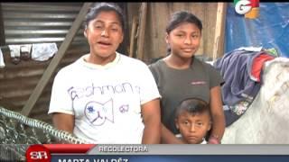 Tesoros entre la basura, Guatemala, Sin Reservas, Guatevisión