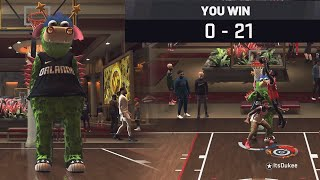 I MADE THIS ELITE 3 TAKE OFF HIS MASCOT AFTER 21-0 HIM IN THE STAGE/ANTEUP! NBA 2K20 Gameplay!