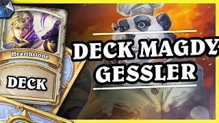 DECK MAGDY GESSLER - NOMI PRIEST - Hearthstone Deck (Rise of Shadows)