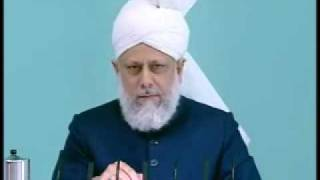 Friday Sermon : 30th October 2009 - Part 3 (Urdu)