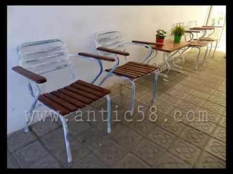 Restauraci n sillas met licas youtube - Restauracion de sillas ...