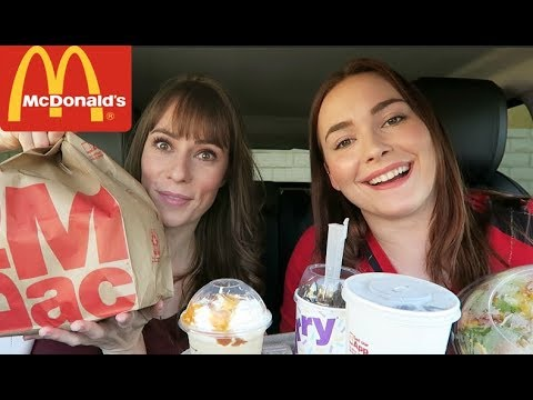 McDonalds MUKBANG! Featuring Amy Castle