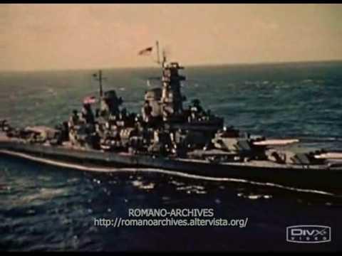 1944 USS Iowa Class Battleship