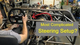 Steering Rack, Steering Column Install, Bump Steer - E55 ASL Part 8