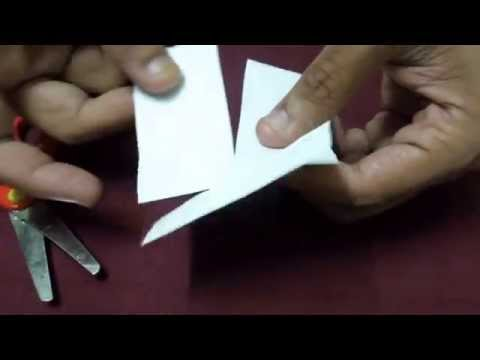 how to make paper drone