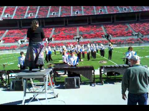 Clinton Massie High School Marching Band at OSU b