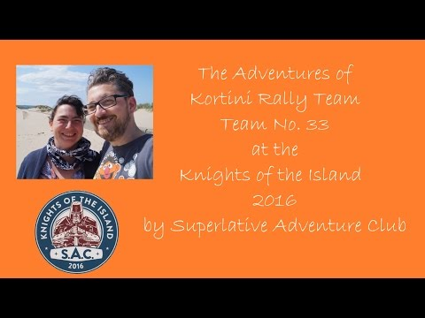 Kortini Rally Team   Team No 33   Knights of the Island 2016