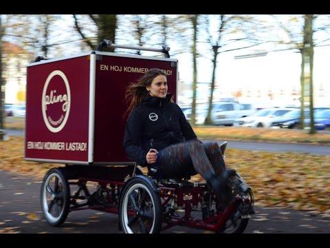 Cargo bikes replacing van and truck deliveries