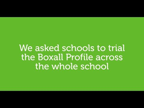 The Boxall Profile - A whole school approach