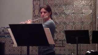 Pièce pour flûte seule - Jacques Ibert - flauta: Marcela Barbieri