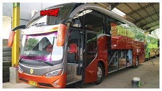 KEREN..!! Bus Nusa Indah SHD Evolander New Armada benar2 High.