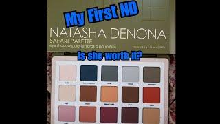 Natasha Denona Safari Palette - First Impressions Live