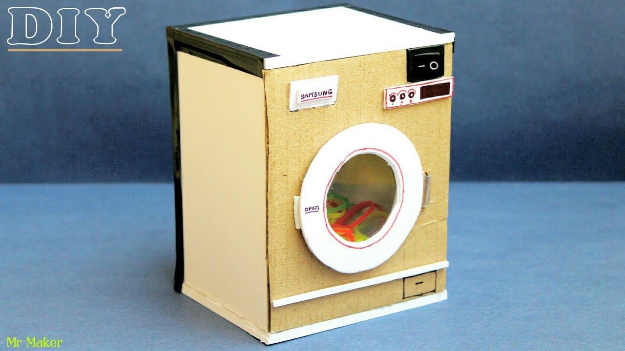 Diy Washing Machine Toy Washer
