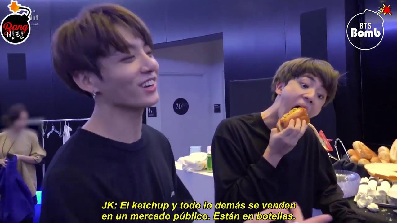 [Sub Español][BANGTAN BOMB] BTS' Food Talk! - BTS (방탄소년단)