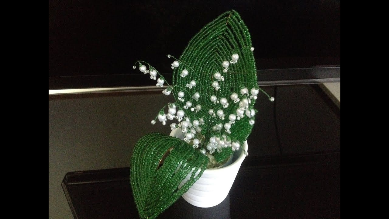 схема тюльпана из бисера своими руками