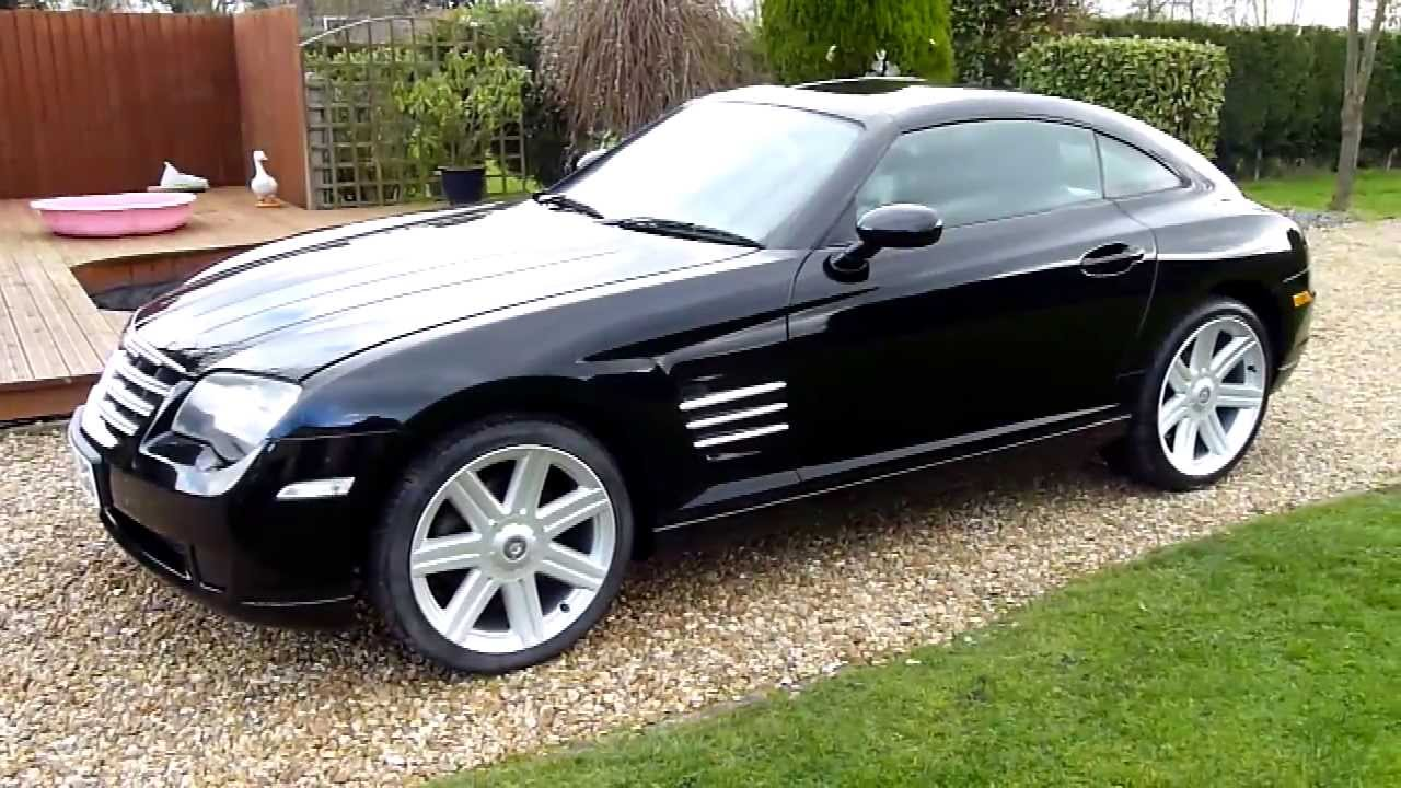 video review of 2004 chrysler crossfire 3 2 coupe for sale sdsc specialist cars cambridge youtube. Black Bedroom Furniture Sets. Home Design Ideas