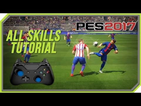 PES 2017 All Tricks and Skills Tutorial [Xbox One, Xbox 360
