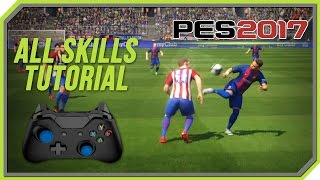 PES 2017 All Tricks and Skills Tutorial [Xbox One, Xbox 360, PC]