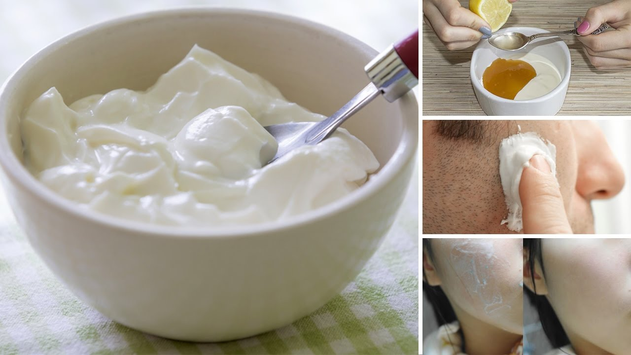 10 Surprising Benefits of Yogurt For Skin And Hair - YouTube