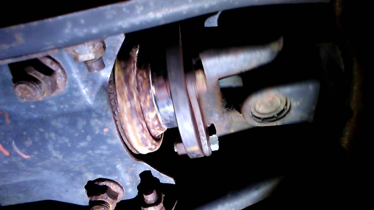 Subaru Outback 98 Rear Differential Noise - YouTube