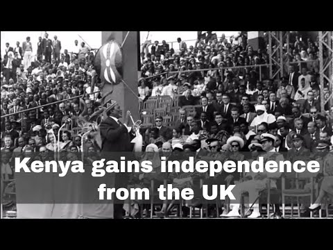 12th December 1963: Kenya gains independence from the United Kingdom