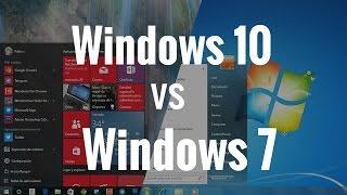 Windows 10 vs Windows 7, comparativa en español