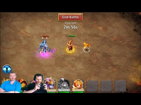Slow Down Archdemon 1.7 Billion Total Damage Castle Clash