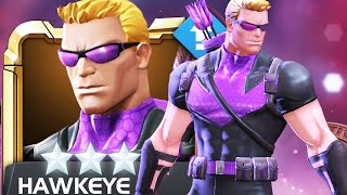 MARVEL: Contest of Champions - 4-Star HAWKEYE ||Rank 3|| Level Up