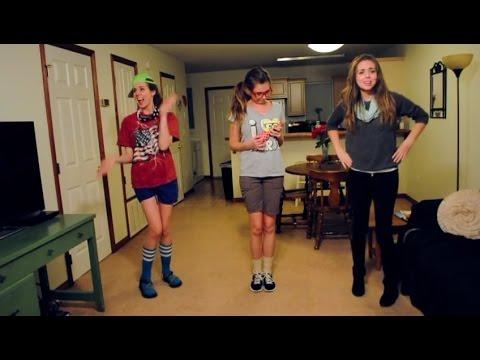 HELLO Martin Solveig Genial, tres chicas bailando!