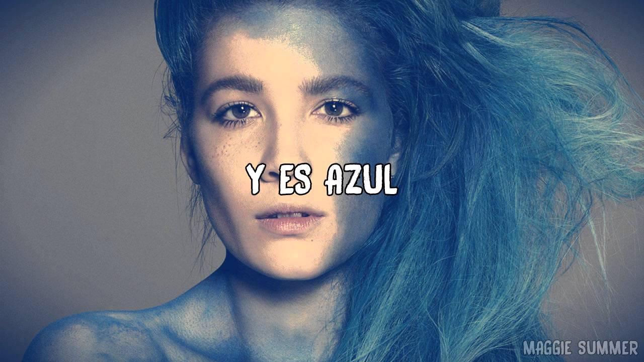 Halsey In Blue Colored Hair: Colors (Sub. Español)