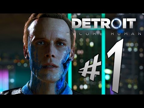 Detroit Become Human - Parte 1: Os Androides Substituíram Tudo! [ PS4 Pro - Playthrough ]