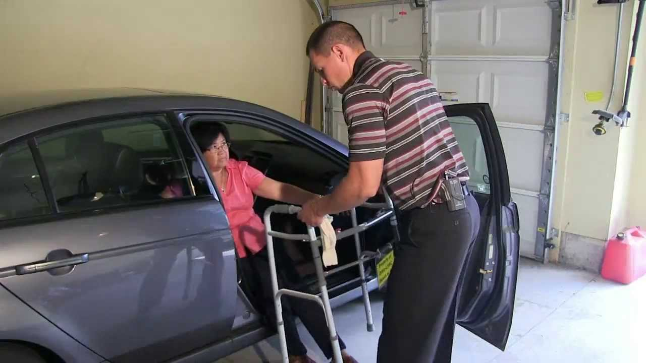 Car Transfer After Hip And Knee Surgery Youtube