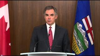 RAW: Jim Prentice on falling oil prices